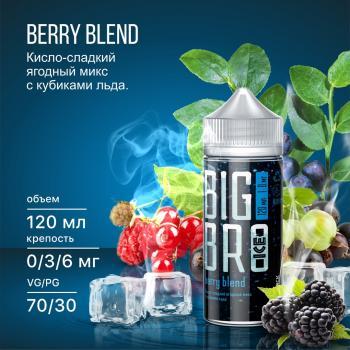 Жидкость Big Bro Ice Berry Blend (6 мг/120 мл)