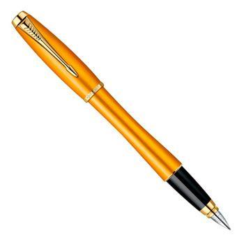 Ручка перьевая Parker Urban Premium F204 Mandarin Yellow Historical Color (1892540)