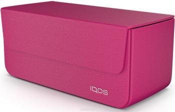 iQOS 2.4 Кожаный чехол (Розовый)