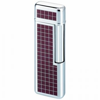 Зажигалка газовая Windmill Wine Red Tartan Lacquer WM M29-0008