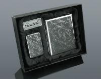 Подарочный набор Gentelo 4-4080 (Зажигалка и Портсигар)