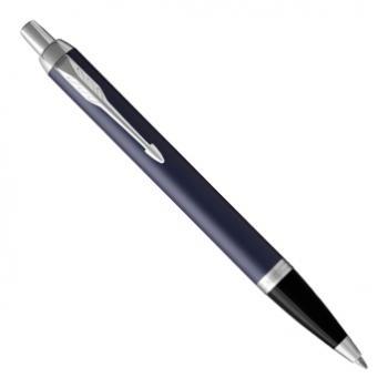 Ручка шариковая Parker IM Metal 2017 K321 Matte Blue CT (1931668)
