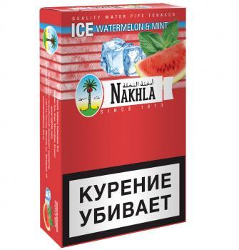 Табак для кальяна Nakhla Ice Арбуз и Мята (50 г)