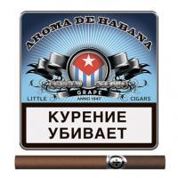 Сигариллы Aroma De Habana Grape (10 шт)