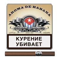 Сигариллы Aroma De Habana Irish Coffee (10 шт)
