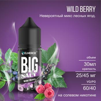 Жидкость Big Salt Wild Berry (25 мг/30 мл)