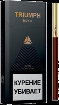Сигареты Triumph Black Slims