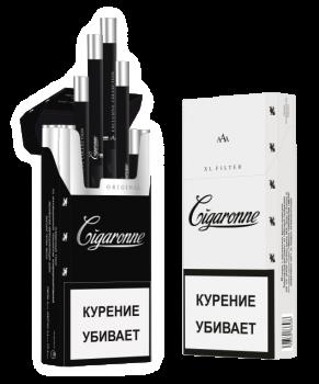 Сигареты Cigaronne Black XL