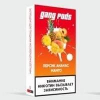Картриджи Gang Персик, Ананас и Манго (1 шт)