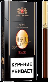 Сигареты GT Black Slims