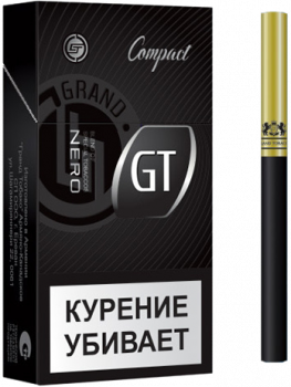 Сигареты GT Nero Compact Size