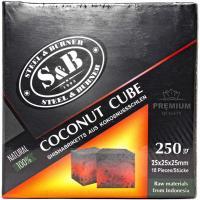 Уголь для кальяна S&B (18 куб)