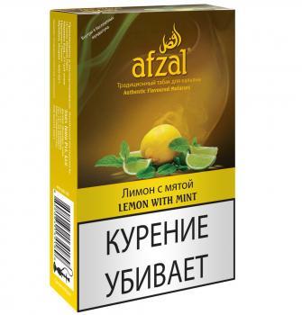 Табак для кальяна Afzal Лимон с Мятой (40 г)