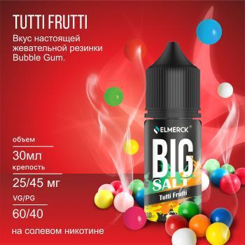 Жидкость Big Salt Tutti Frutti (25 мг/30 мл)