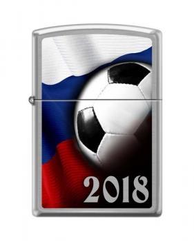 Зажигалка Zippo 200 Russian Soccer 2018