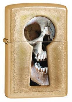 Зажигалка Zippo Keyhole Skull 28540