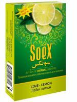 Кальянная смесь Soex Lemon Mint Лимон с Мятой (50 г)