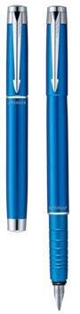 Ручка перьевая F136 Parker Esprit Matte Blue (S0774520)