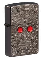Зажигалка Zippo High Polish Black Ice® 49300