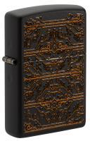 Зажигалка Zippo Black Matte Circuit Pattern 49572