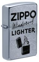 Зажигалка Zippo Street Chrome™ 49592