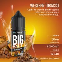 Жидкость Big Salt West Tobacco (20 мг/30 мл)