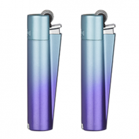 Зажигалка Clipper СМ056 Blue Gradient