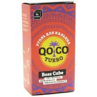 Уголь для кальяна Qoco Turbo Boss Cube (96 куб)