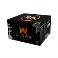 Уголь для кальяна Crown 25 (72 куб)