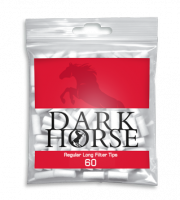 Фильтры для самокруток Dark Horse Regular Long (8 мм/60 шт)