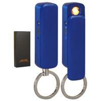 USB-зажигалка LTR-713 брелок/фонарик BLU