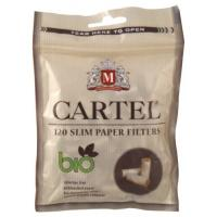 Фильтры для самокруток Cartel Bio Slim (6 мм/120 шт)