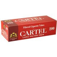 Гильзы сигаретные Cartel Long Filter 200 шт