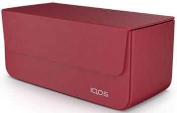 iQOS 2.4 Кожаный чехол (Красный)
