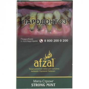 Табак для кальяна Afzal Мята Стронг (40 г)