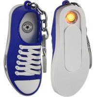 USB зажигалка КРОССОВОК брелок/фонарик Z-8769 BLU