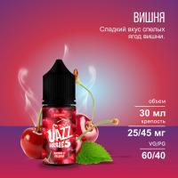 Жидкость Jazz Berries Salt Cherry Fusion (45 мг/30 мл)