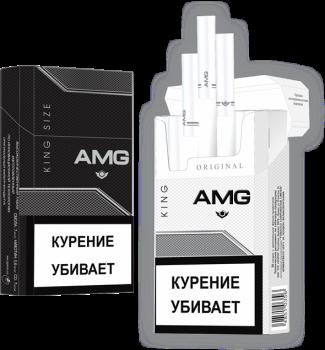 Сигареты AMG Black King Size
