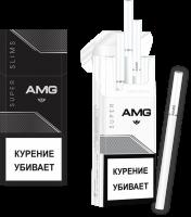 Сигареты AMG Black Super Slim