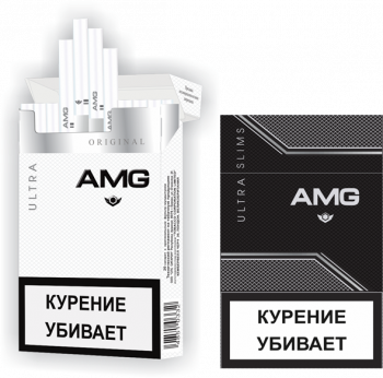 Сигареты AMG Black Ultra Slim