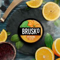 Кальянная смесь Brusko Апельсин с Мятой (50 г)