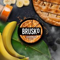 Кальянная смесь Brusko Банановый Пирог (50 г)