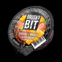 Кальянная смесь Brusko BIT Ананас с Манго и Клубникой (20 г)