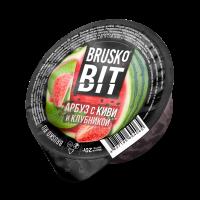 Кальянная смесь Brusko BIT Арбуз с Киви и Клубникой (20 г)