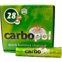 Уголь для кальяна Carbopol 28 мм