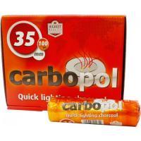 Уголь для кальяна Carbopol 35 мм