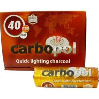 Уголь для кальяна Carbopol 40 мм