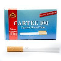 Гильзы сигаретные Cartel Carbon (100 шт)