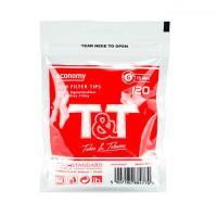 Фильтры для самокруток T&T Slim 6 мм 120 шт