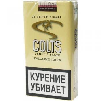 Сигариллы Colts Little Cigars Dark Vanilla (20 шт)